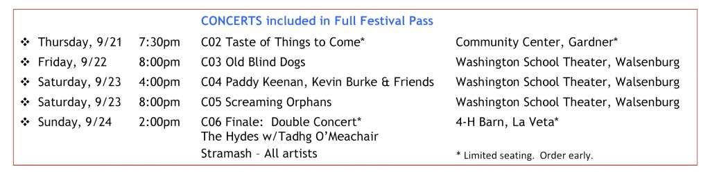 Concerts-Full Festival Pass