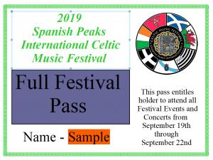 Purchase Tickets - Spanish Peaks International Celtic Music Fest